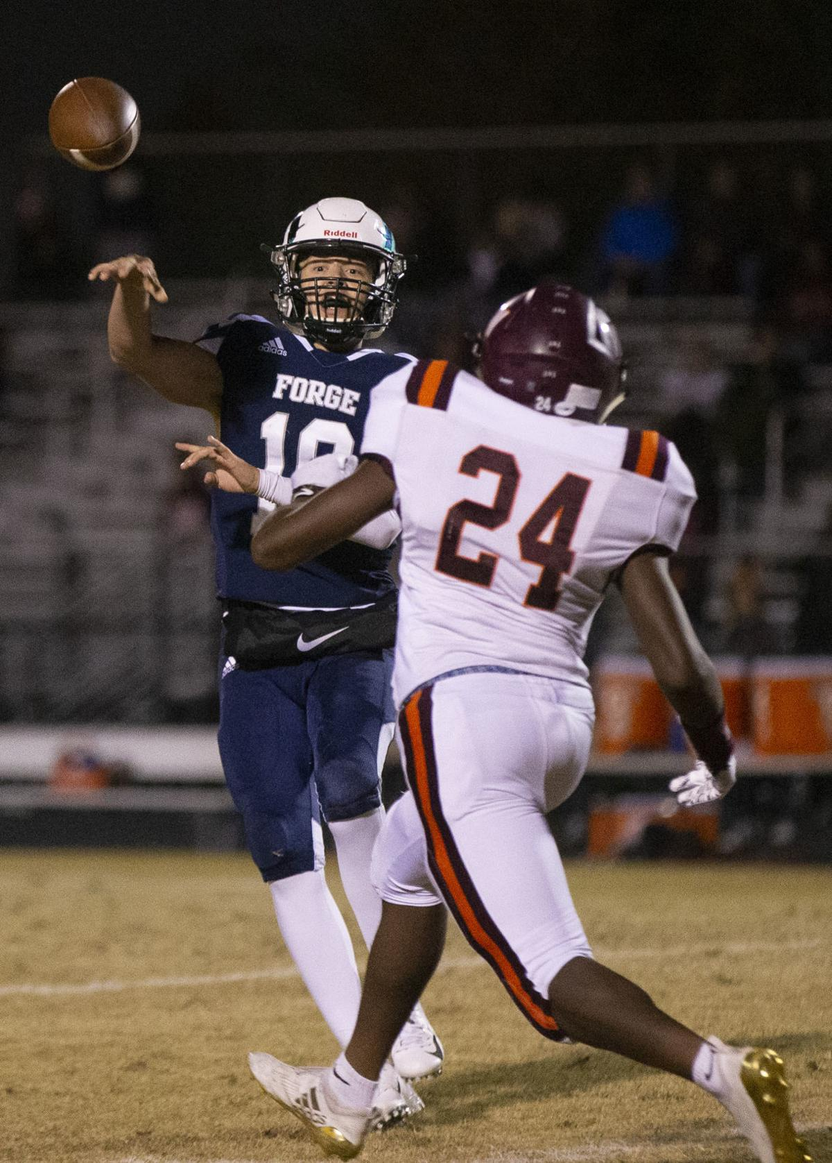Colonial Forge vs Mountain View football