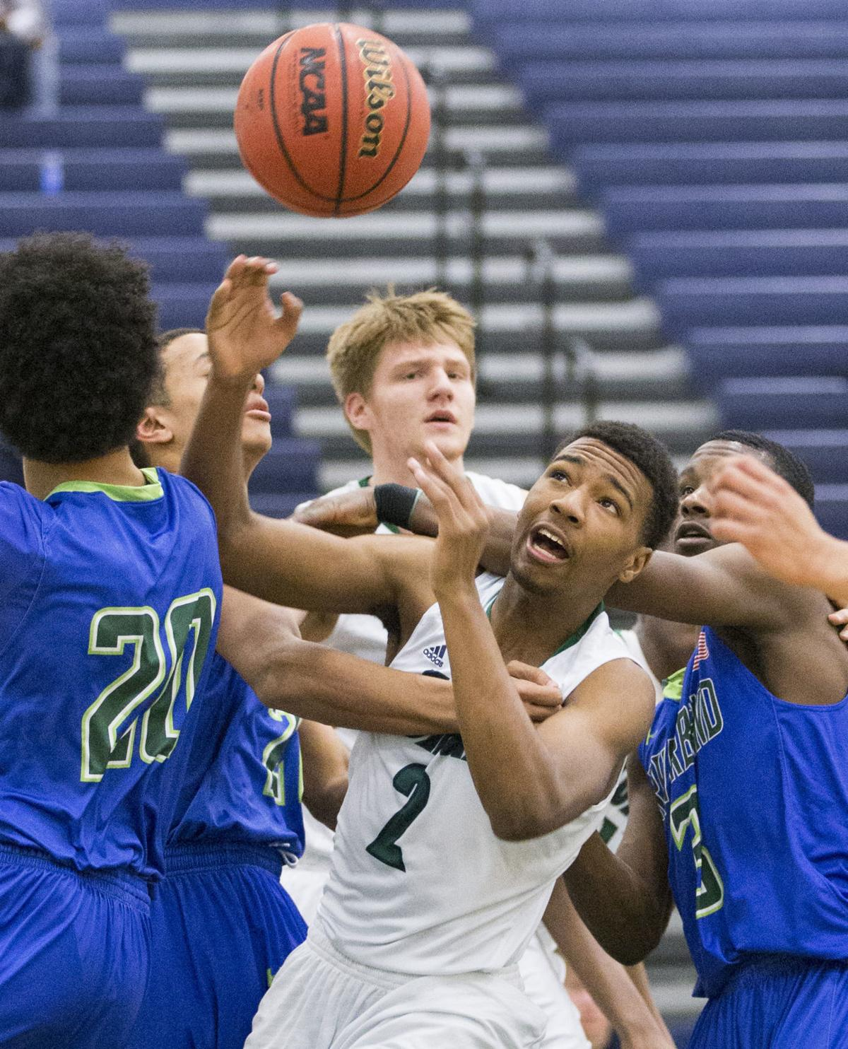 Colonial Forge vs Riverbend boys basketball