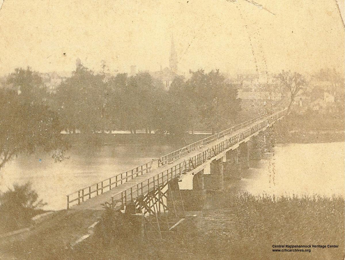 View West Across Chatham Bridge 1886