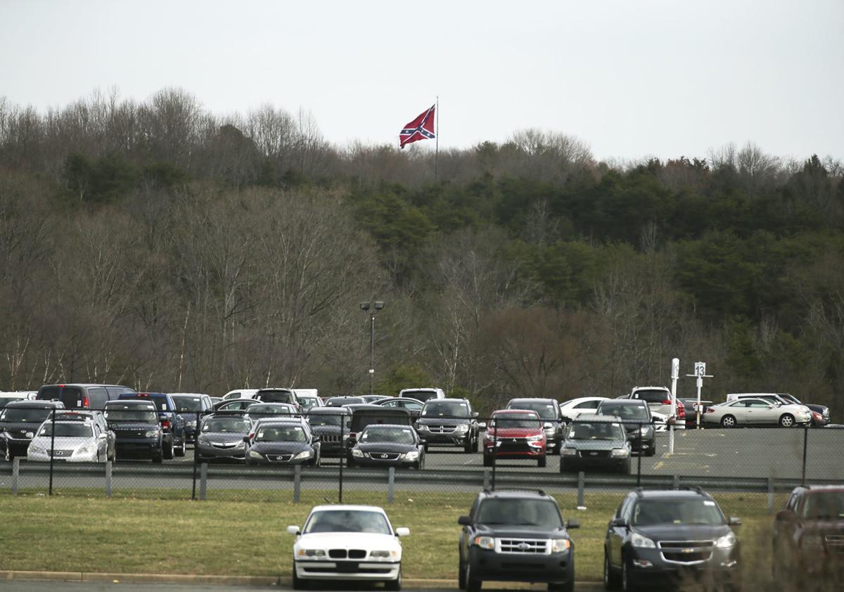 I-95 Confederate flag