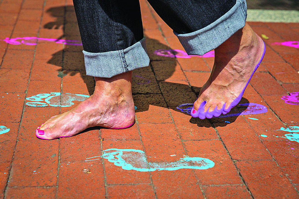 Creativity Toes Mix At Art Attack And Feet First In Fredericksburg