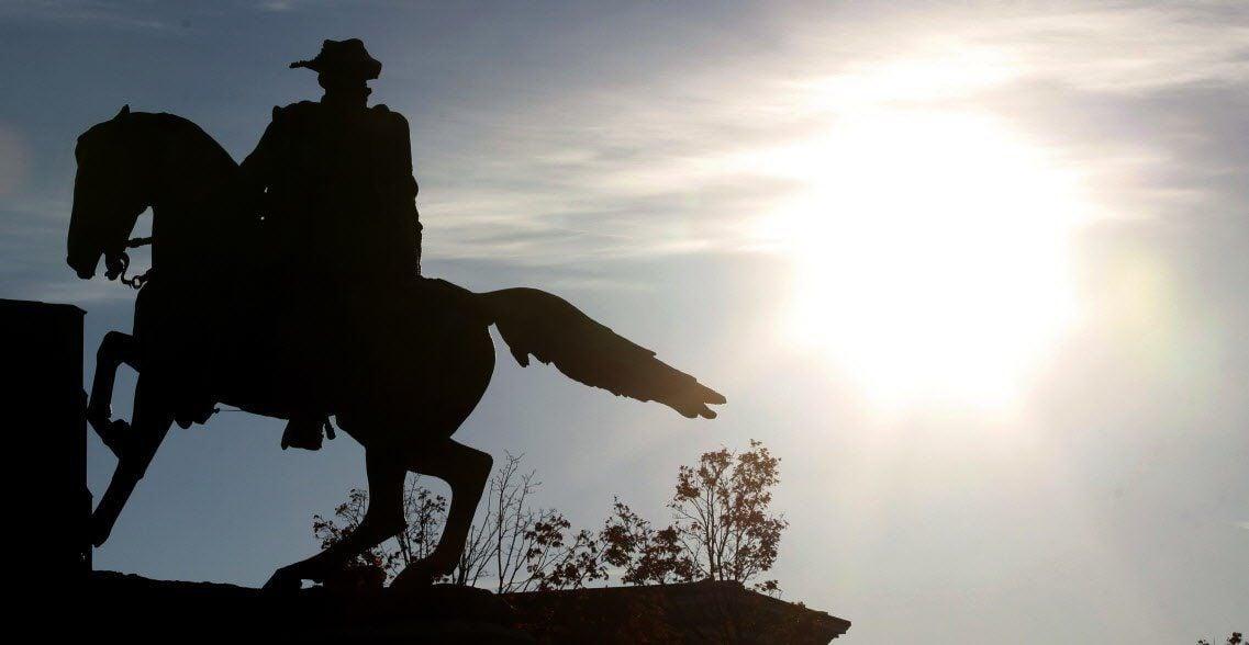 Jeb Stuart statue