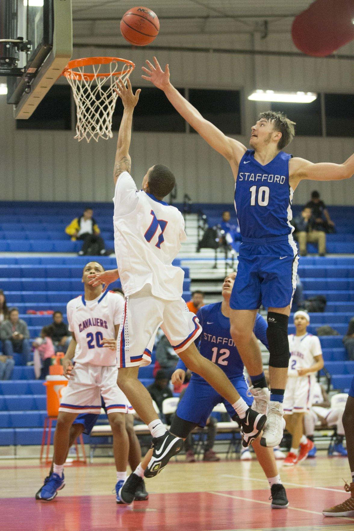 Caroline vs Stafford boys basketball