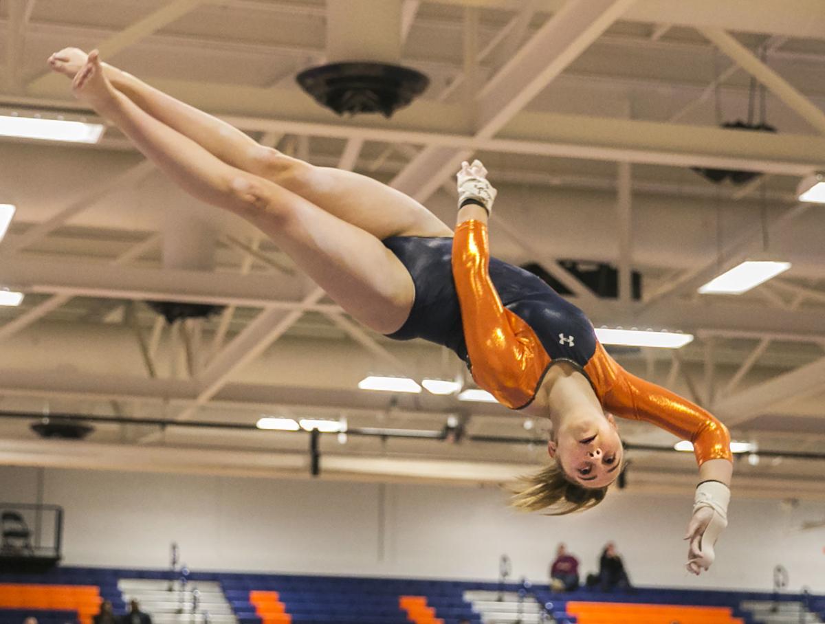 Gymnastics at North Stafford High School