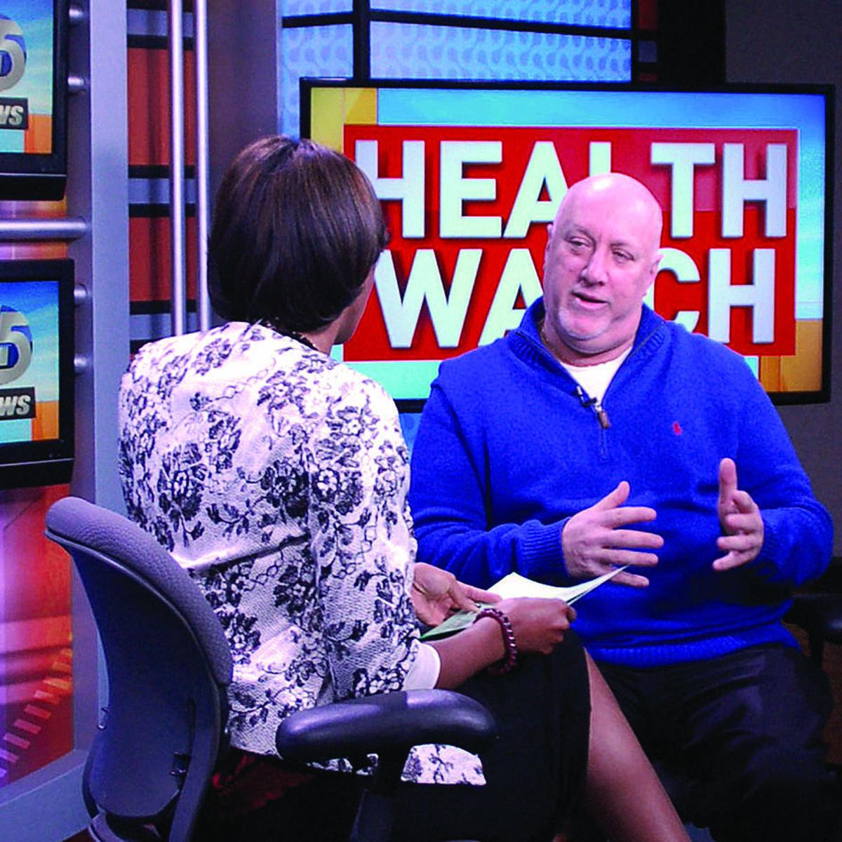 Maryland colon-cancer survivor uses past to help others