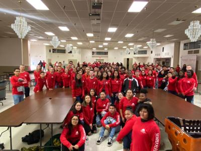 JROTC: Marine Corps cadets pack ornaments for Semper Fi Fund