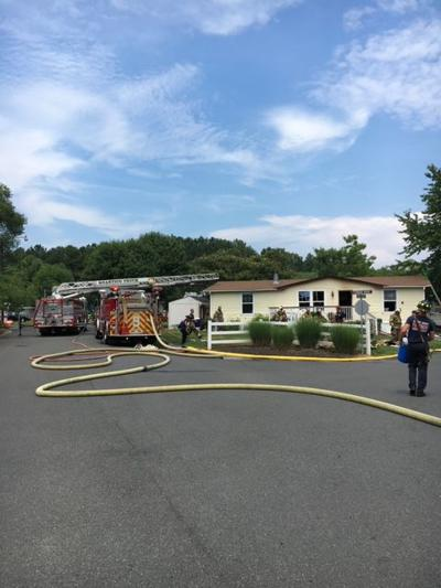 Cliff Circle house fire