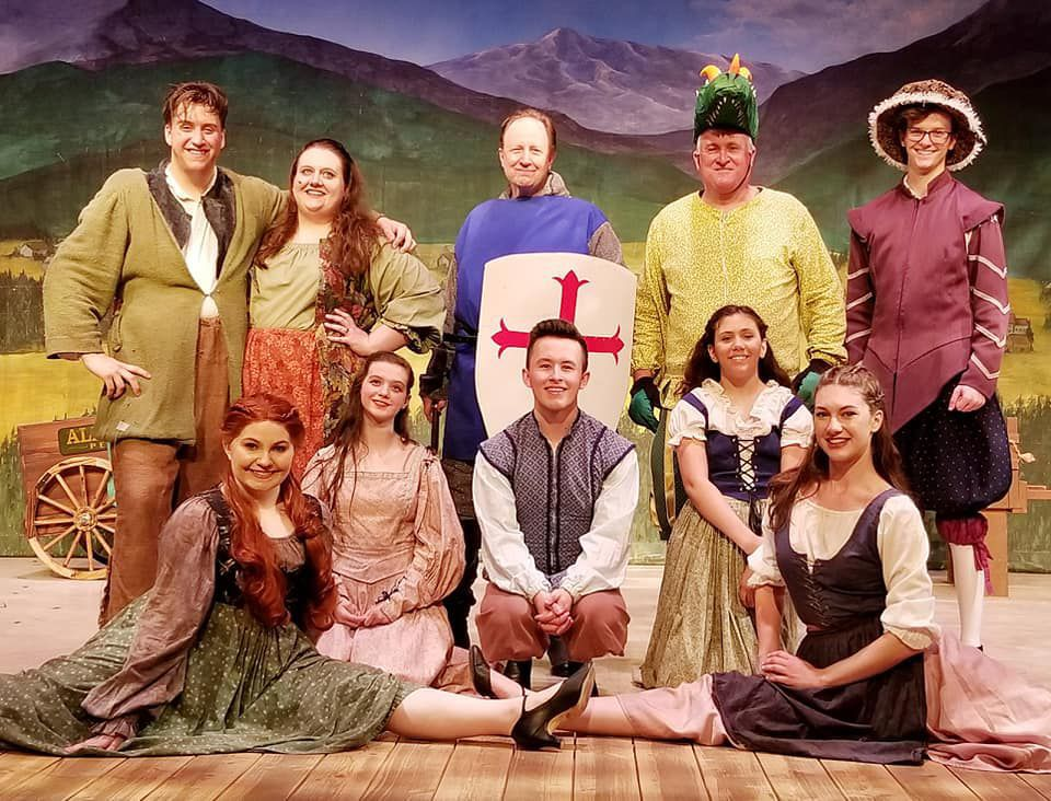 The Reluctant Dragon swoops down onto Riverside stage