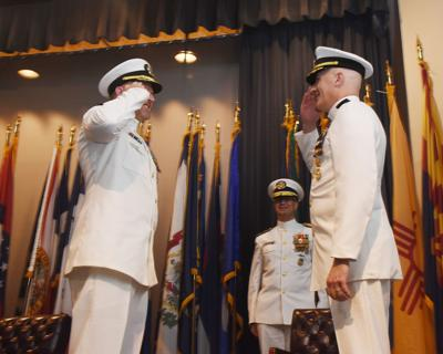 Naval Support Activity South Potomac change of command