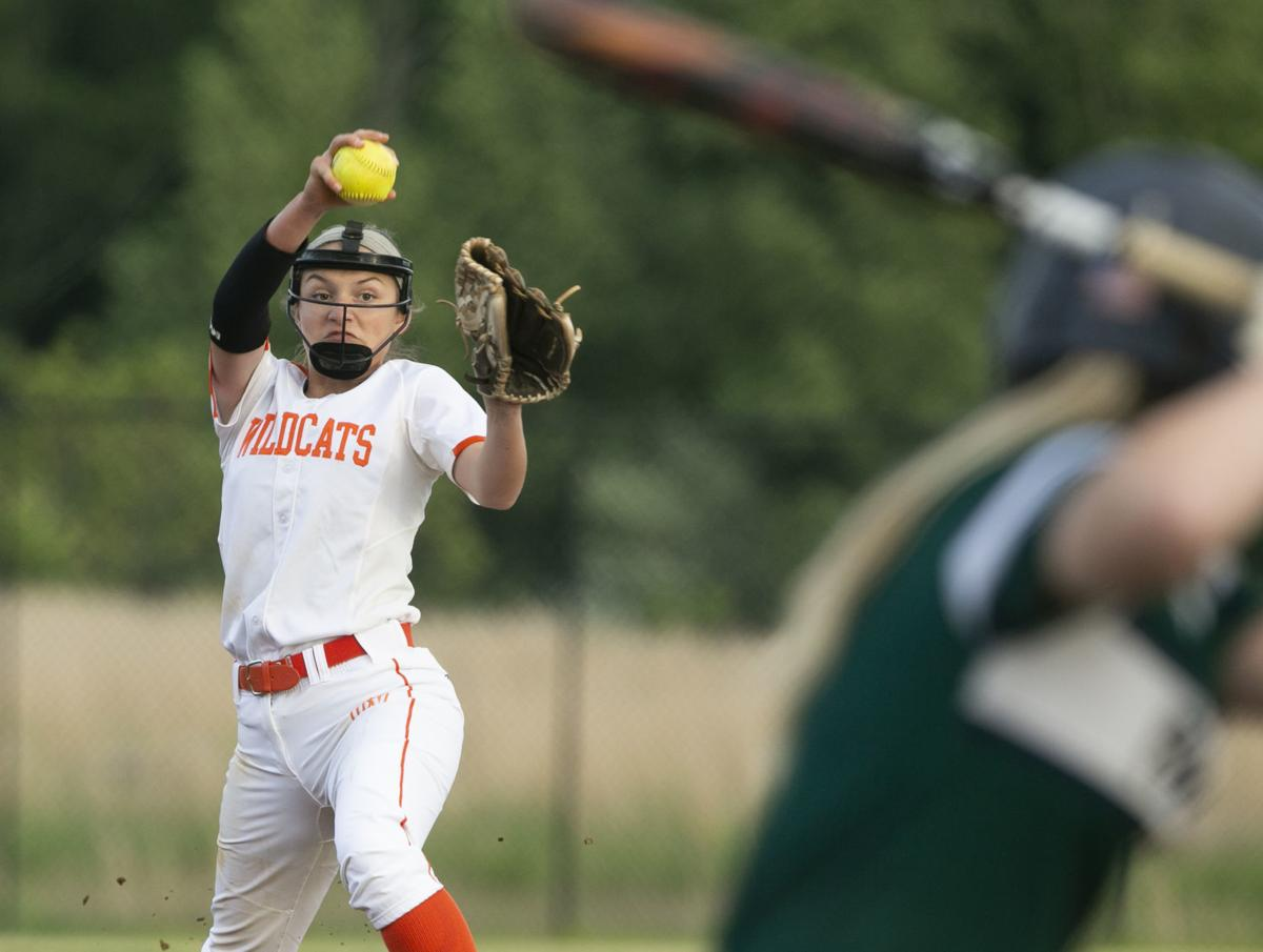 Mountain View vs Colonial Forge softball