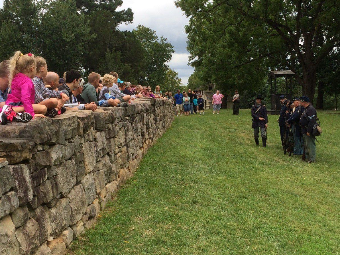 Living History Weekend at Fredericksburg Battlefield