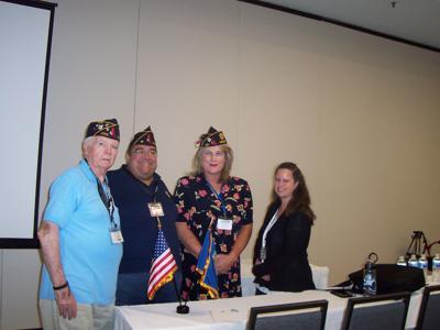 POST 290: Stafford American Legion post member leads Richmond program