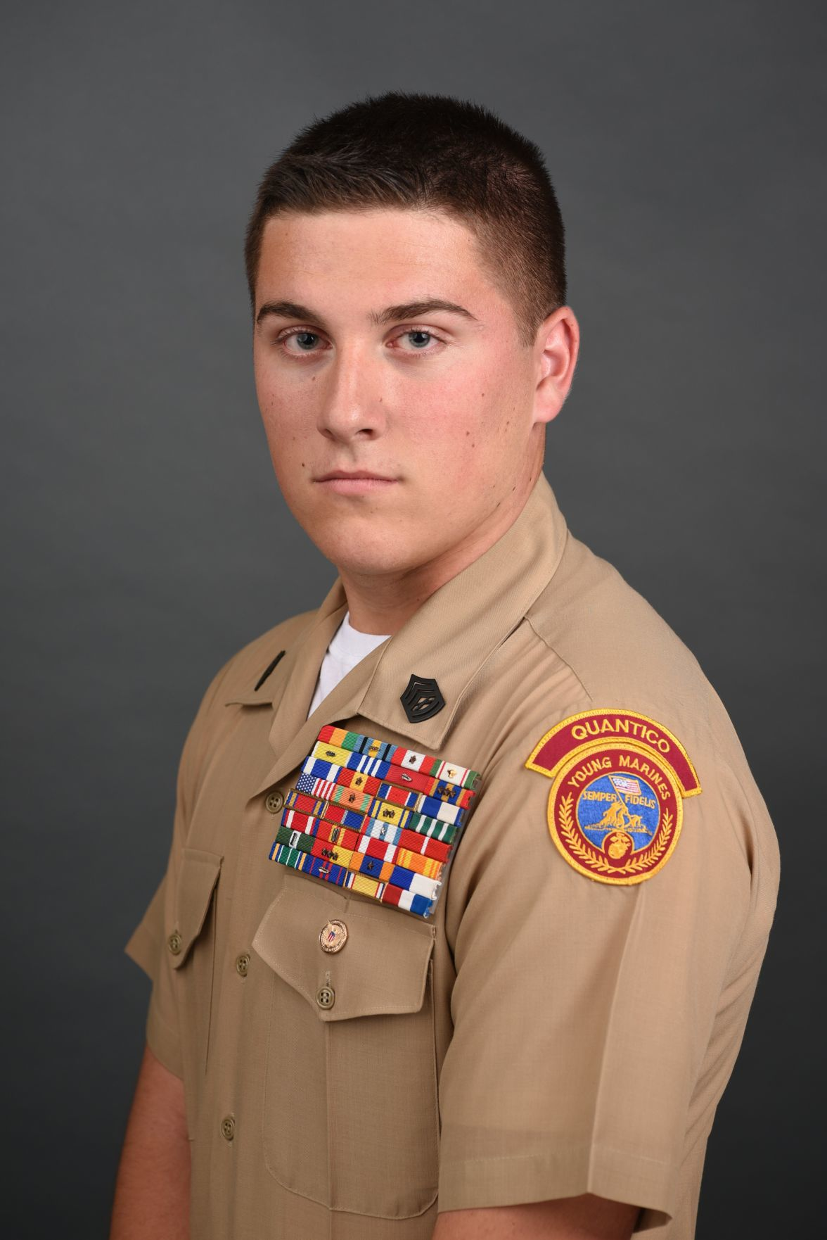 Nathaniel Paredes - 'Young Marine of the Year' for Division 2