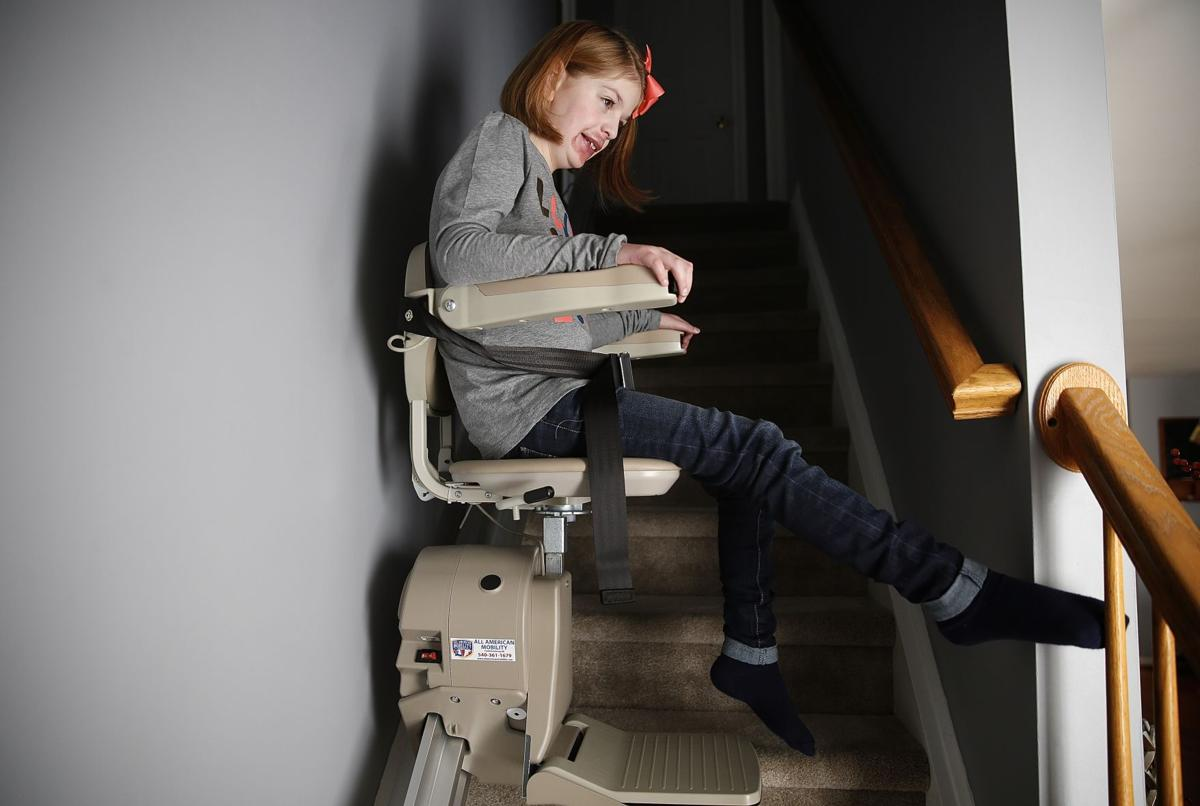 Update New Stair Lift Gives Adelynn Smith Complete