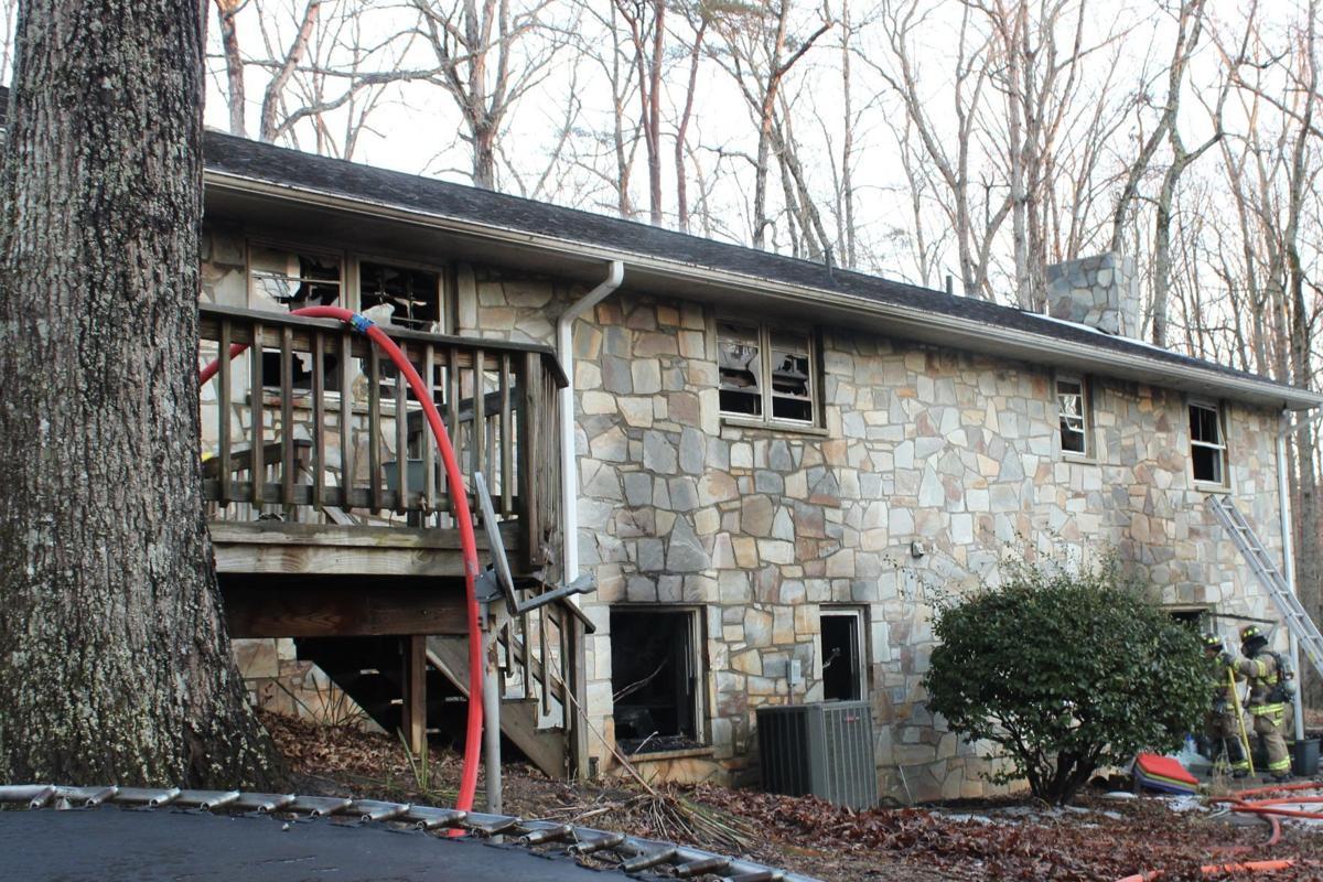 West Rocky Run Road house fire