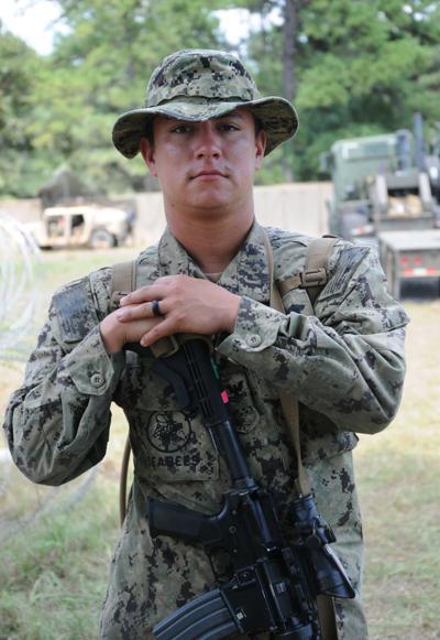 Petty Officer 2nd Class Cristian Benton