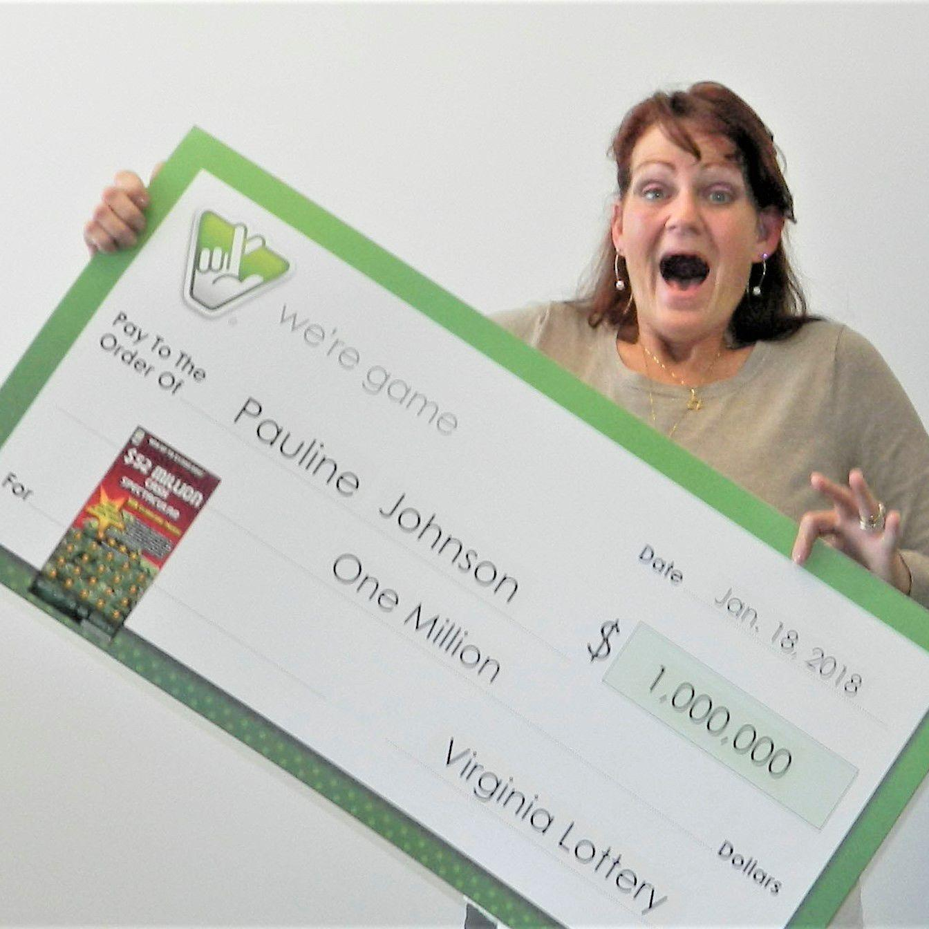 Woman wins $1 million on lottery ticket she bought at