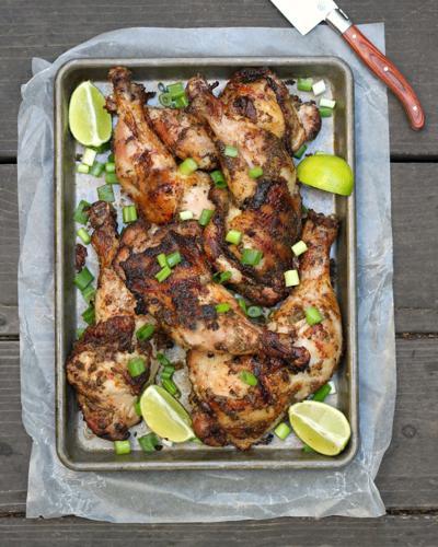Caribbean barbecue recipe for Jamaican jerk chicken