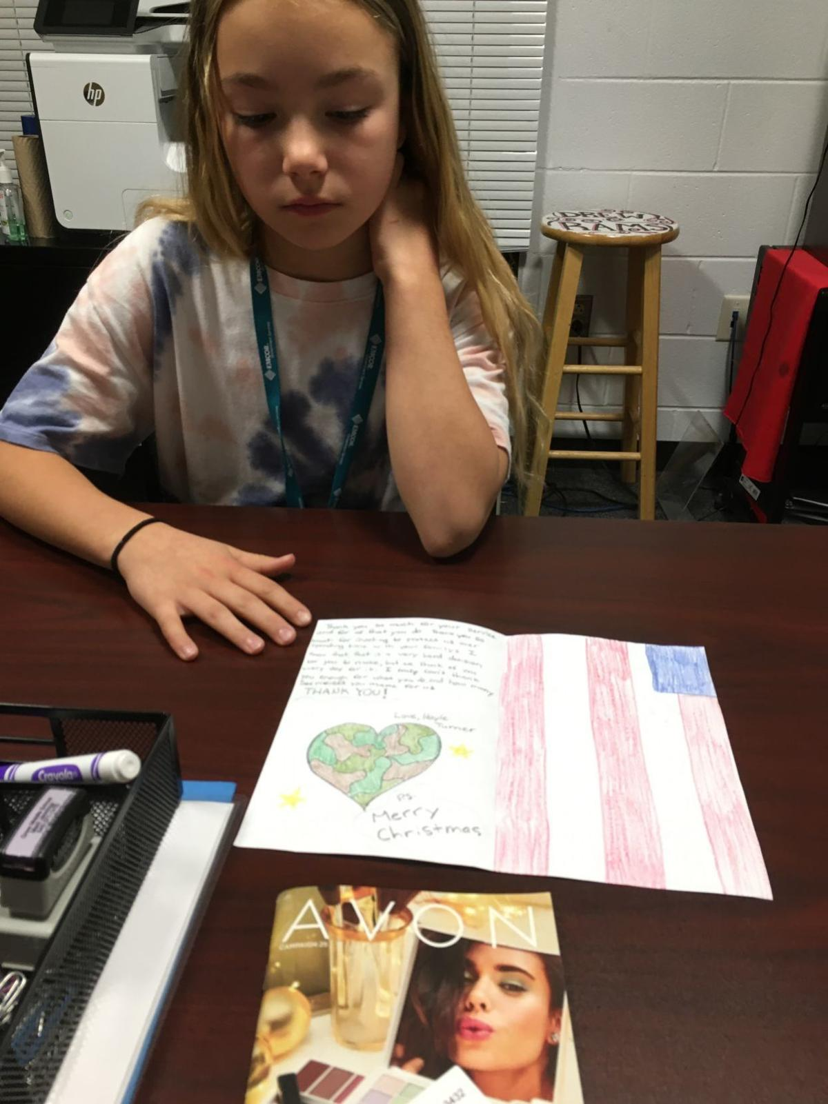 Operation Christmas Cards For Troops Overseas 2020 Stafford students write holiday letters to troops | Local News