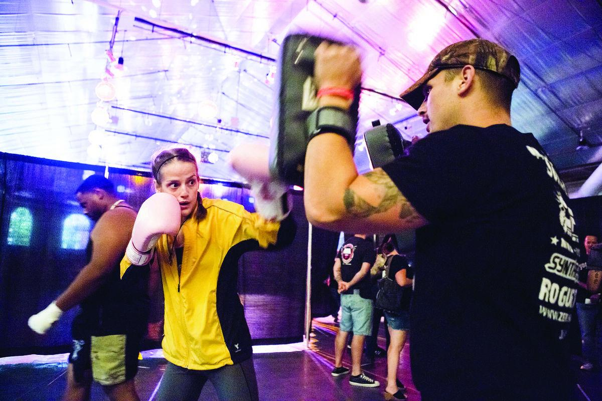 MMA fighter from Grottoes finds calm inside the storm