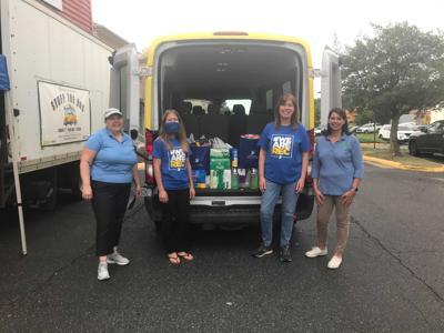 Spotsylvania County Public Schools' Stuff the Bus school supply drive