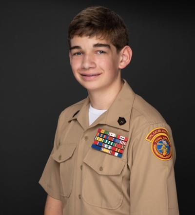 Young Marine Ian Ross