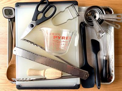 The only pieces of kitchen equipment you actually need