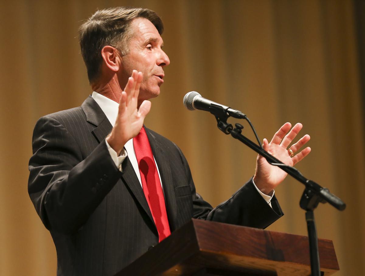 Wittman at debate