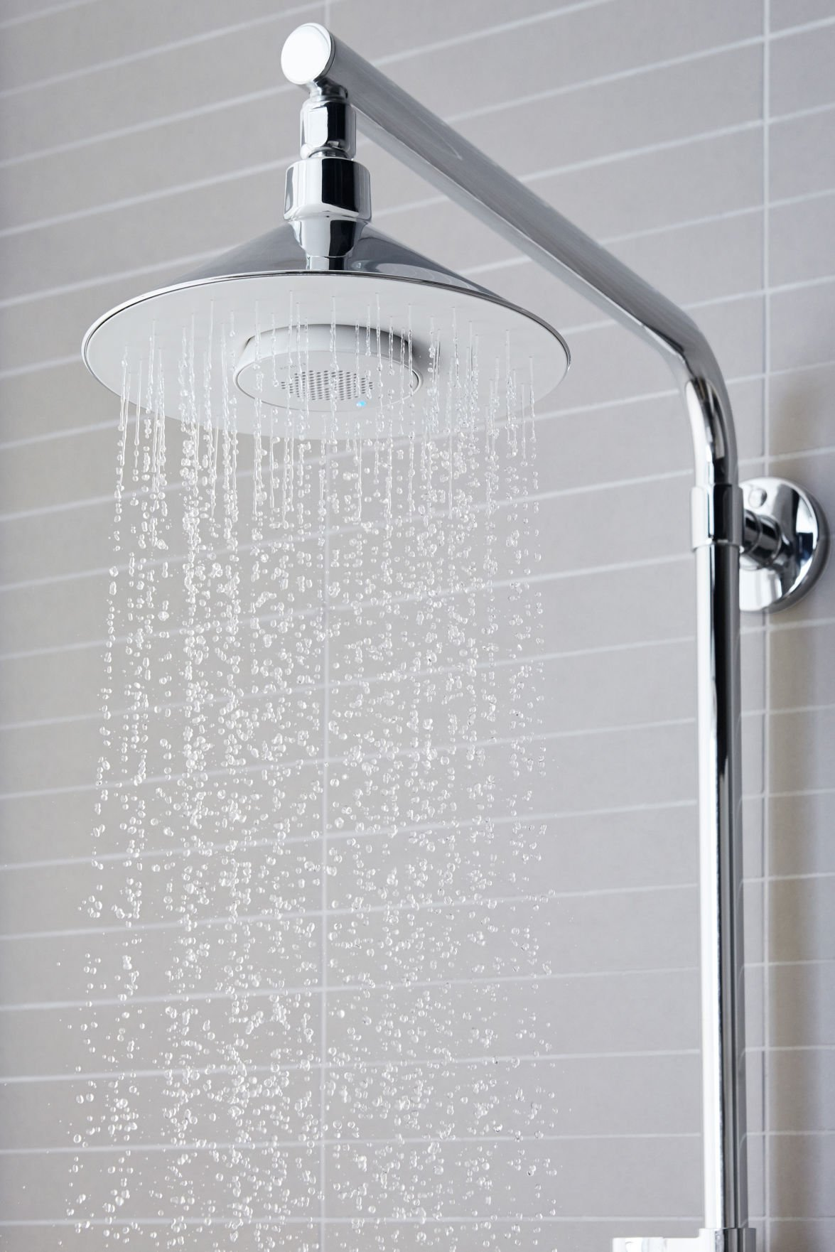 Rain shower heads awash with new features | House & Home ...