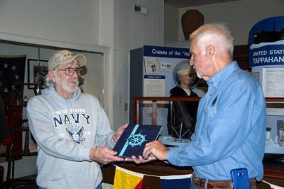 USS TAPPAHANNOCK: Veteran presents talk, cruise book at Essex County Museum