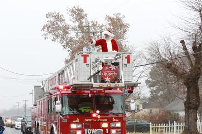 Santa Spotsylvania Christmas Parade