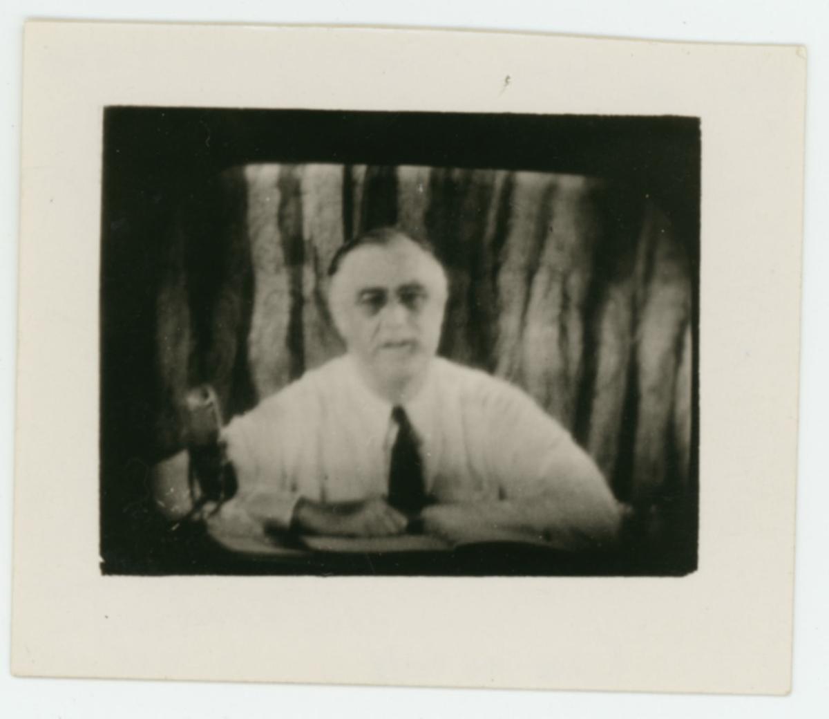 PHOTO: FDR 1940 acceptance speech