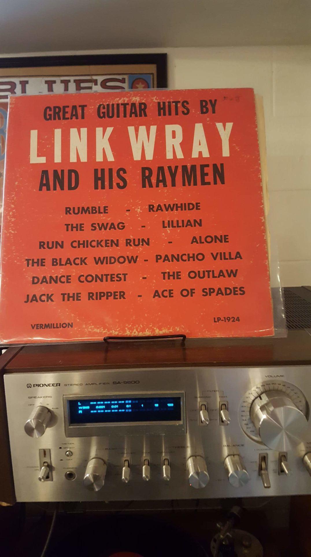 Link Wray album