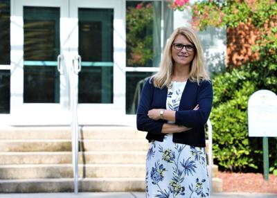 Rappahannock Community College's new president, Dr. Shannon Kennedy, hits the ground running