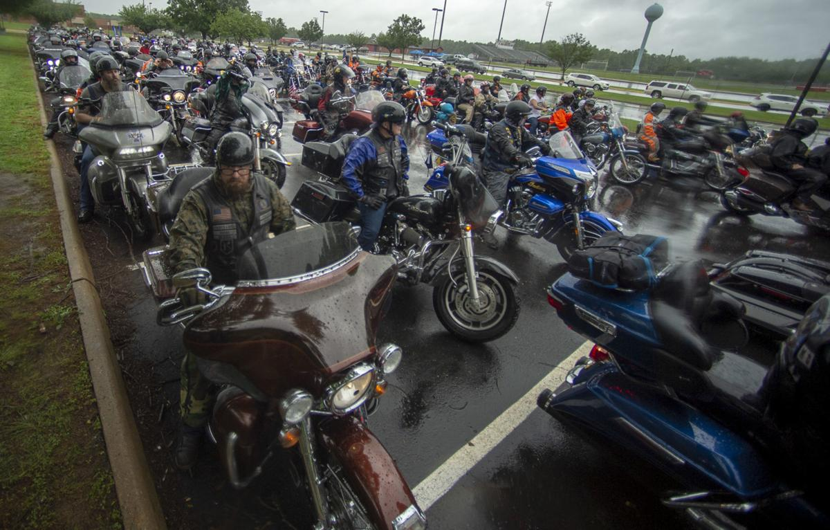 """12th Annual Frazier-Mason """"Some Gave All"""" memorial motorcycle ride"""