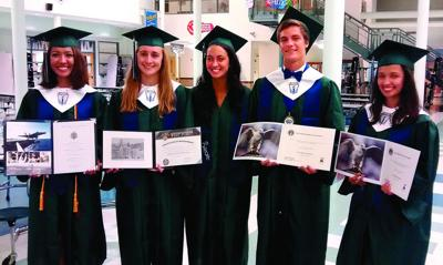 Five Colonial Forge High School graduates appointed to U.S. service academies at scholarship night