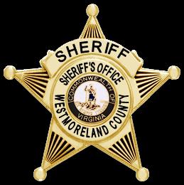 Westmoreland Sheriff's badge logo