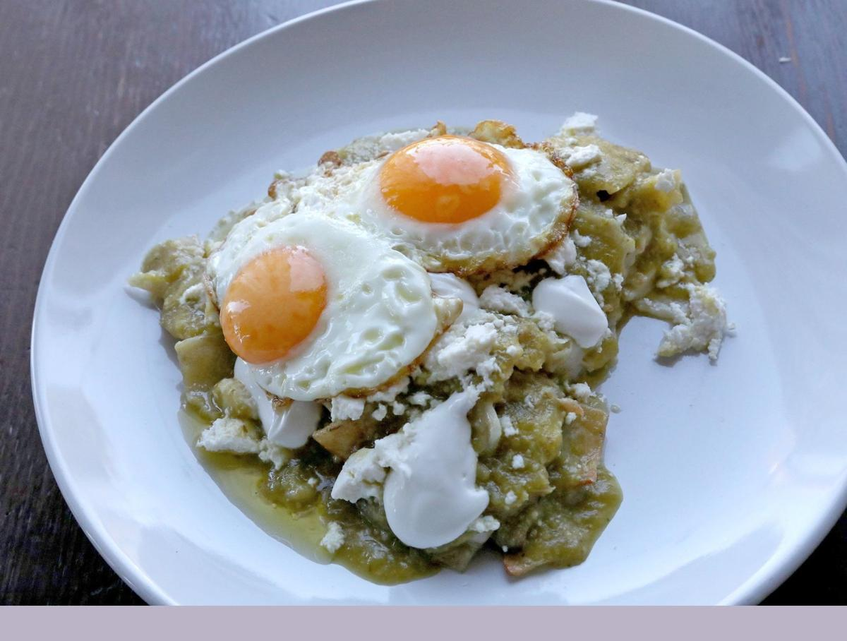 Chilaquiles are a currently trending brunch item, and you can make your own with this recipe