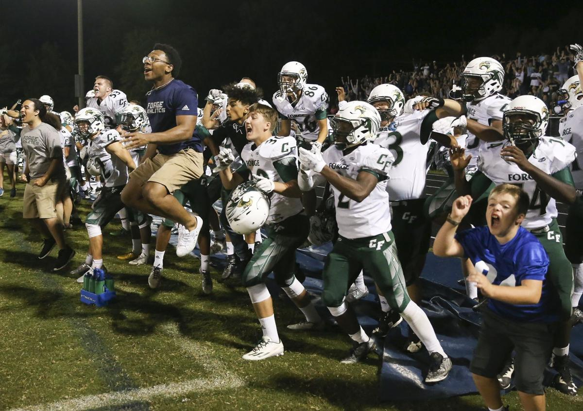 Colonial Forge at Hylton football 1