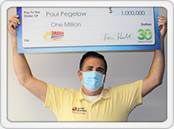 Fredericksburg man wins $1 million with a Mega Millions ticket he bought in Floyd