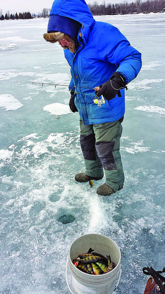 Ken Perrotte: Ice fishing for perch: New twist on March Madness
