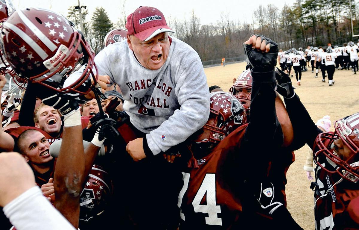 Chancellor football coach Bob Oliver