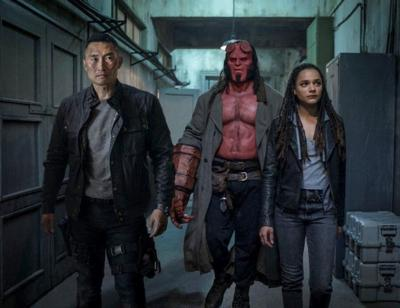 The Hellboy comics are great, but the 'Hellboy' movie is not
