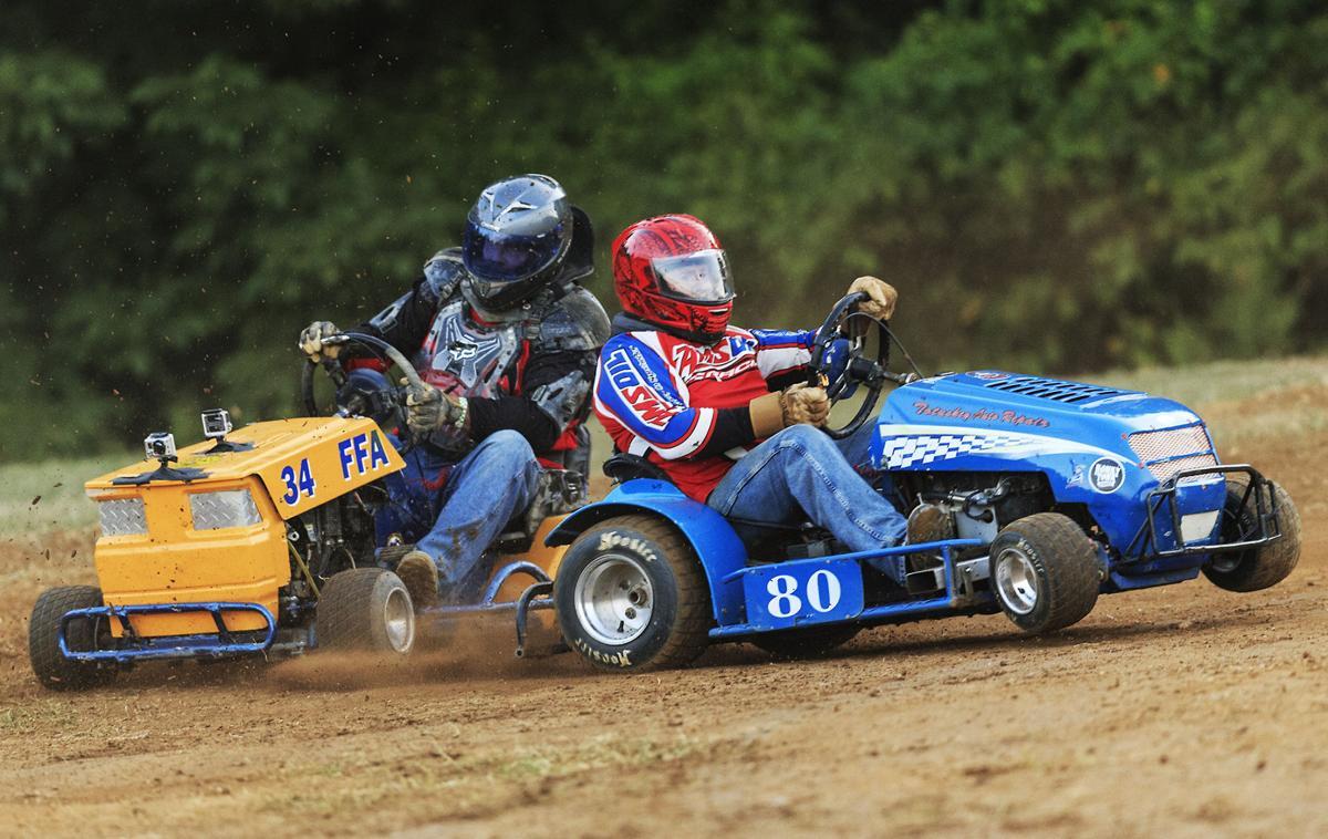 Lawn Mower Racing >> Lawnmower Races Make Reappearance At Fredericksburg Fair