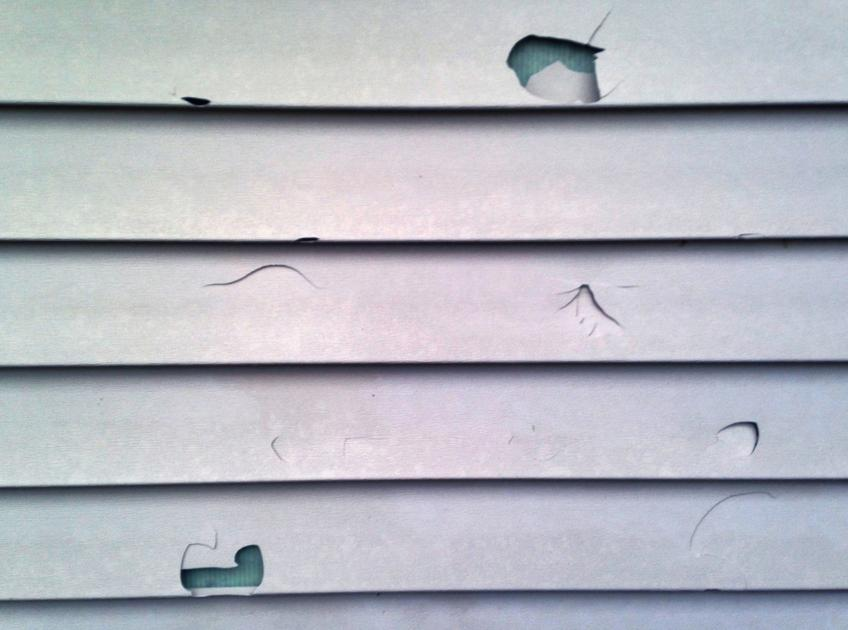 How Do You Repair A Hole In Vinyl Siding House Amp Home