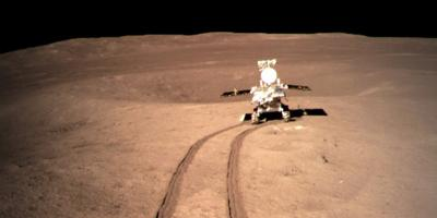 PHOTO: Chinese lunar rover