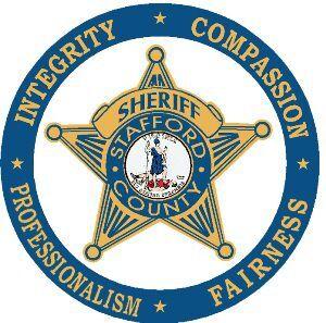 Stafford Sheriff's badge