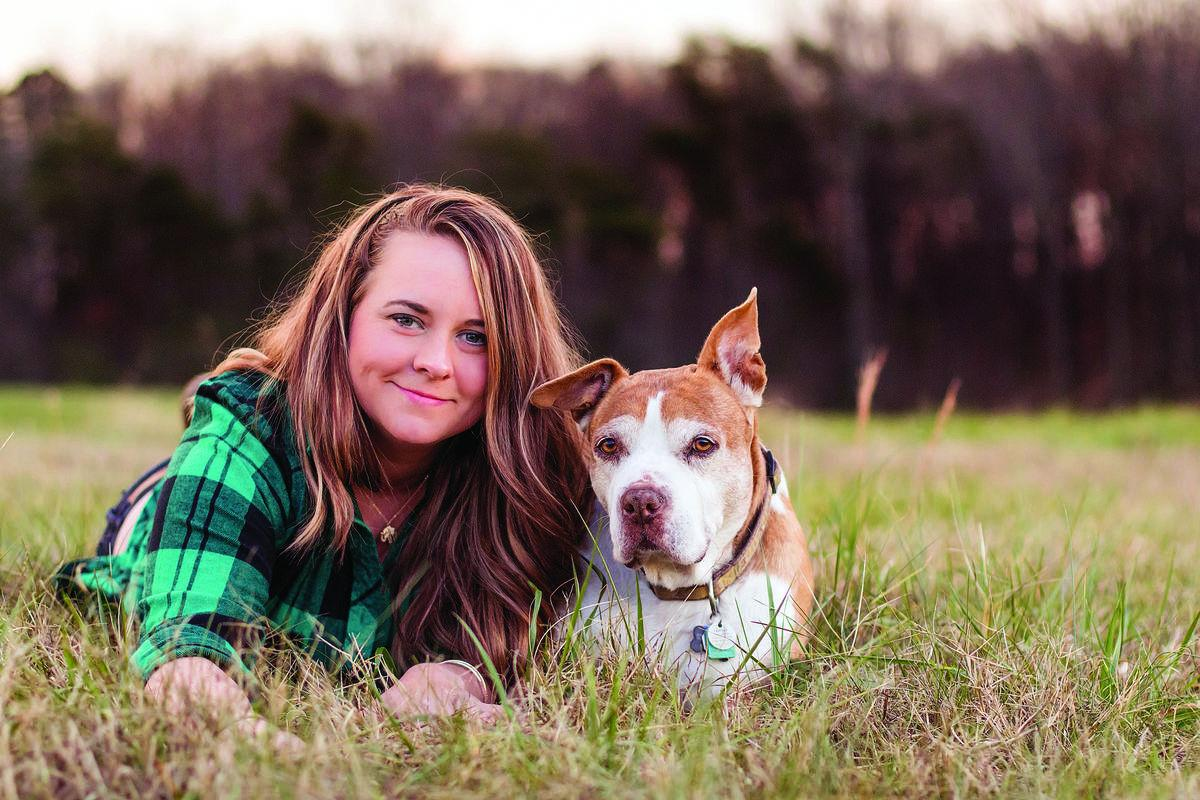 Spotsylvania woman leaves trail of tears as she and beloved pit bull check off dog's bucket list