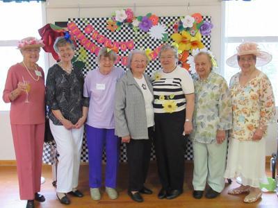 BELMONT CLUB: Women celebrate elegant eighties ladies