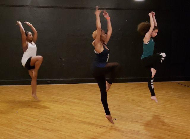 contemporary fusion dance